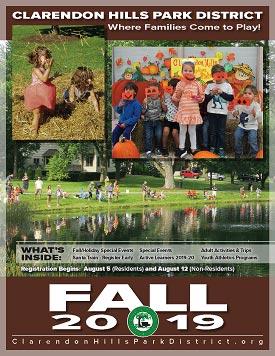 2019 CHPD Fall Brochure