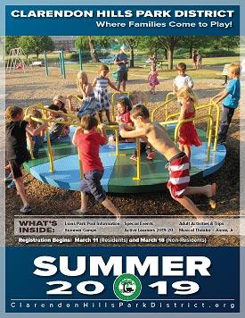 2019 CHPD Summer Brochure