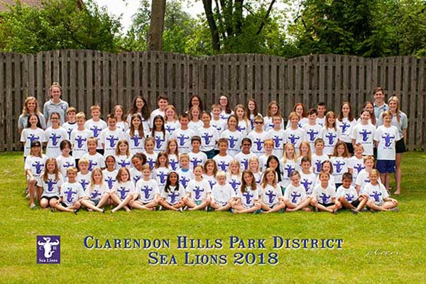 2018 Sea Lions Team Photo