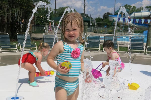 Lions Park Pool - Splash Pad