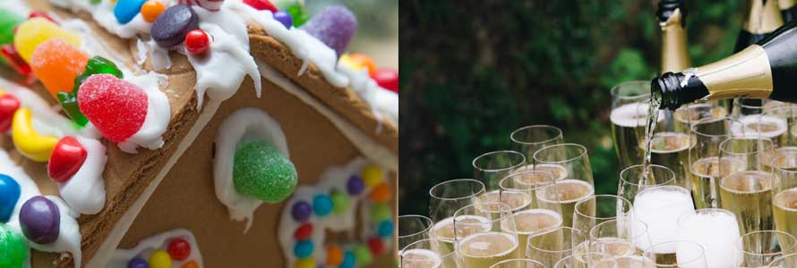Sip & Decorate (Adult Gingerbread House)