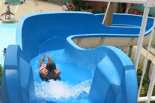 Lion's Park Pool - Slip & Slide Water Slide