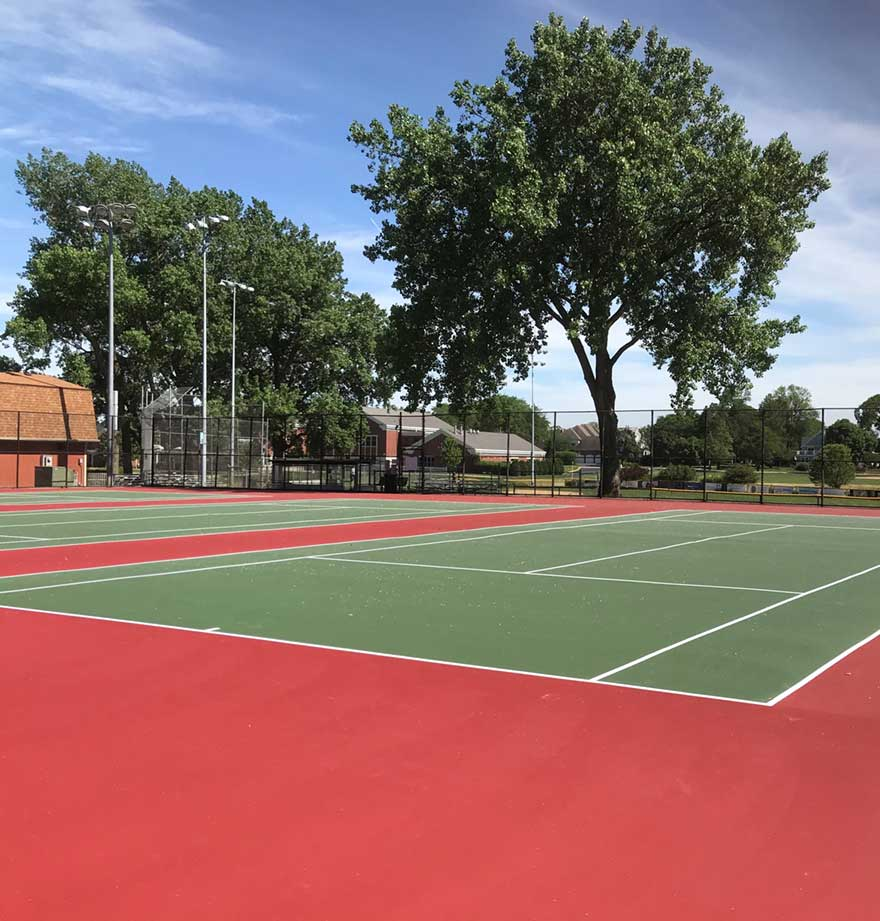 Prospect Park Tennis Court-Renovation Project Completed pic 1