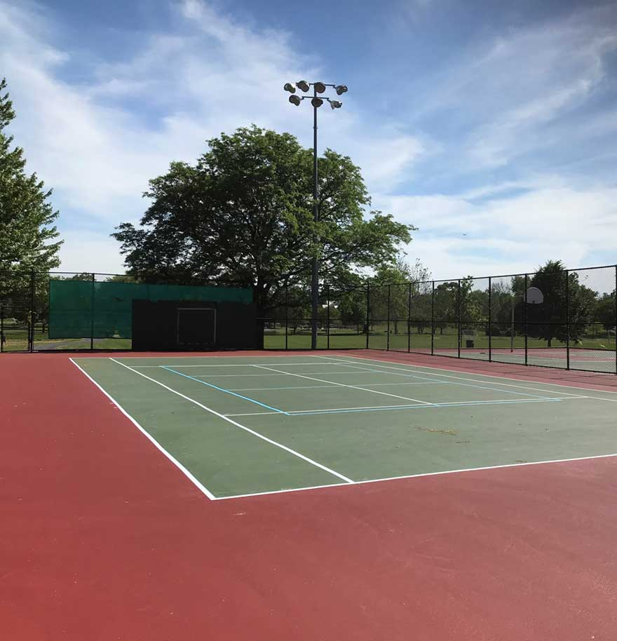 Prospect Park Tennis Court-Renovation Project Completed pic 2