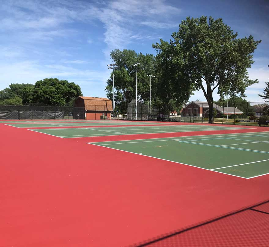 Prospect Park Tennis Court-Renovation Project Completed pic 3