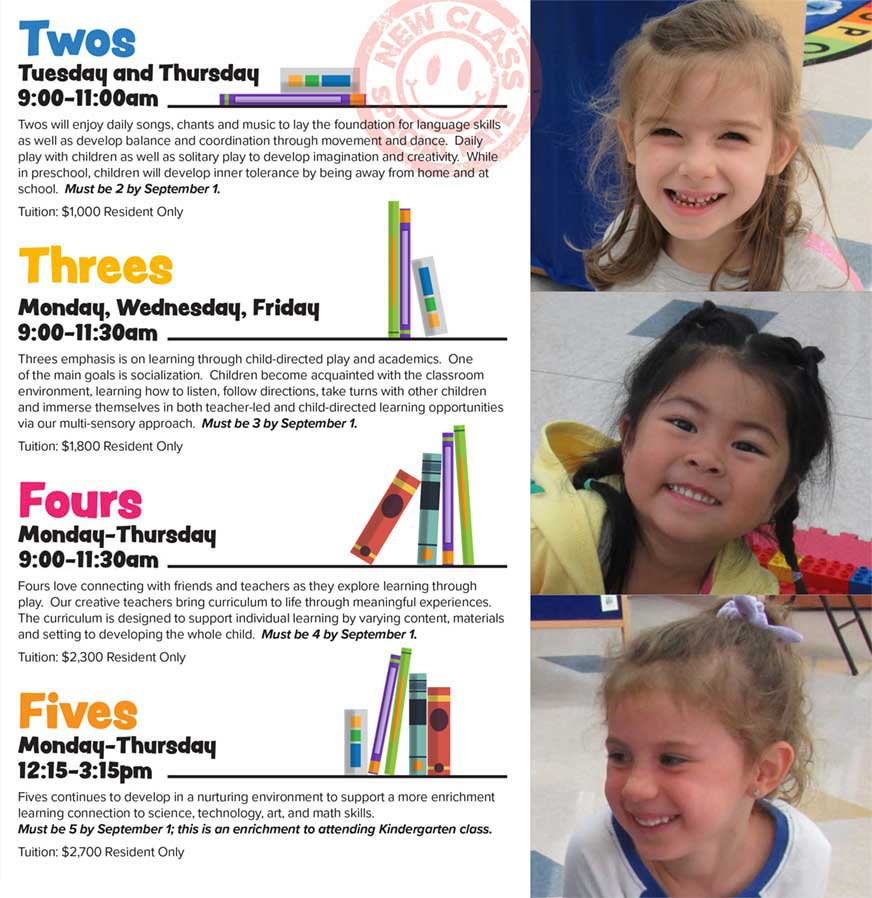 Little Learners Preschool-Twos, Threes, Fours and Fives