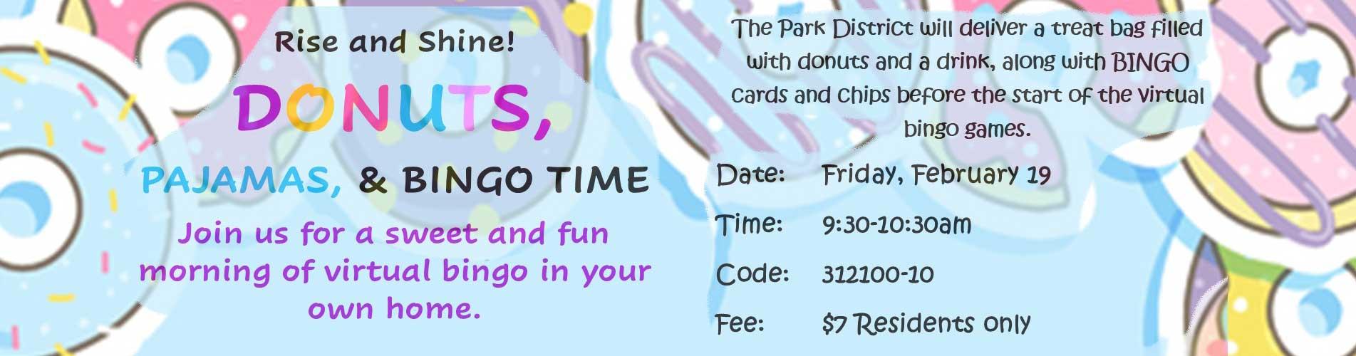2021 Donut Bingo