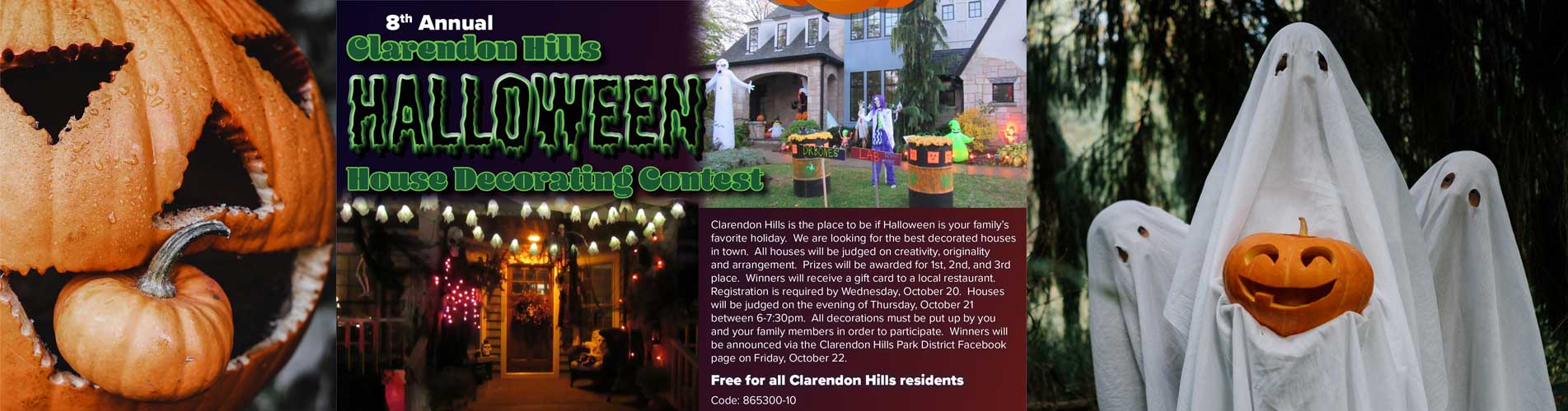 Halloween House Decorating